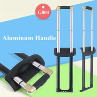 Password Luggaga Black Repair Parts Aluminium Alloy Replacement Handles For Trolly Suitcases Adjustable Length To Hold