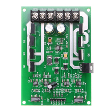 Dual Motor Driver Module Board H-bridge DC MOSFET IRF3205 3-36V 15A Maximum Current up to 30A Green