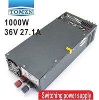 1000 Вт 0 до 36 В Регулируемый 27.1a один Выход импульсный источник питания переменного тока в DC 110 В или 220 В