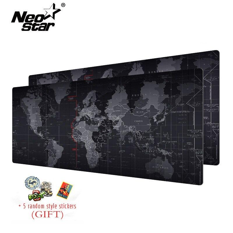 NEO STERNE Große Maus Pad Alten Welt Karte Notebook Computer Mauspad Gaming Maus Matten Praktische Büro Schreibtisch Ruhen Oberfläche
