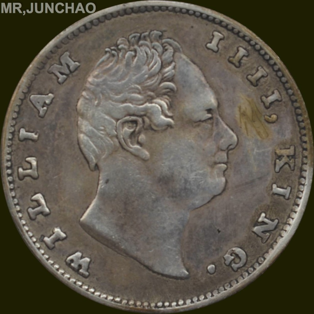 India Coins William Iiii 1835 British East India Company
