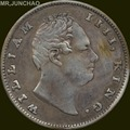 India Coins William IIII 1835 British East India Company 90% Silver One Rupee Copy Coin
