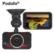 """Podofo 3 """"Car Камера Видеорегистраторы для автомобилей FHD 1080 P видео регистратор 170 Широкий формат регистраторы видеорегистраторы видео Регистраторы G- датчик Ночное видение A80"""