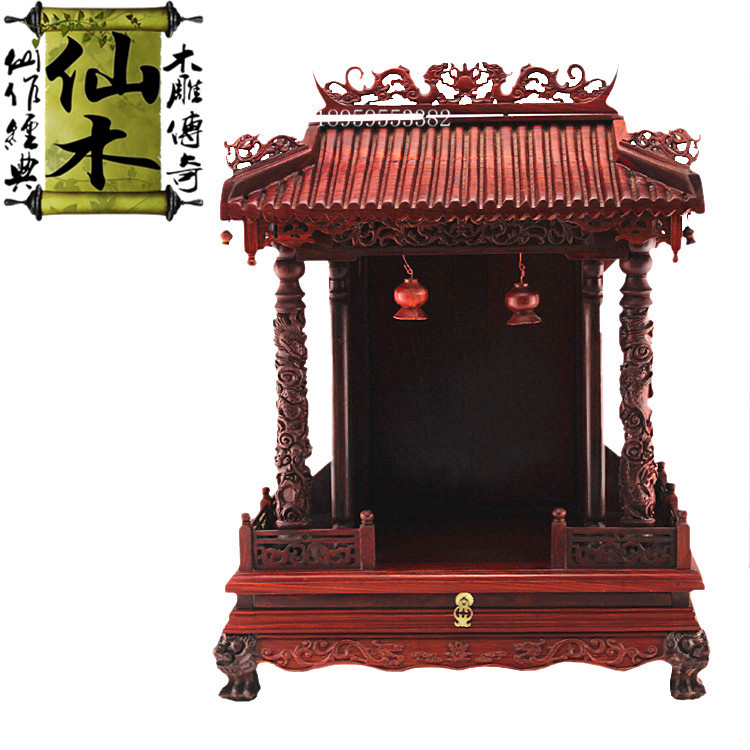 Tiger Foot Buddha Shrines Cabinet Frame Tribute Tables Buddha God Floor  Buddhist Supplies Wood Ornaments And Vintage Furniture, In Cabinet Catches  From Home ...
