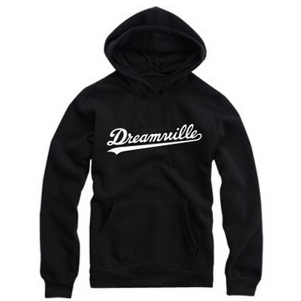 Hoodies Men Hip Hop Dreamville J Cole Logo Thick Hooded Swag Letter