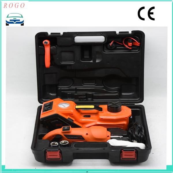 Cheap Shipping Cost New Model Electric Tyre Repair Tool Lifting Jack And Unscrew Impact Wrench