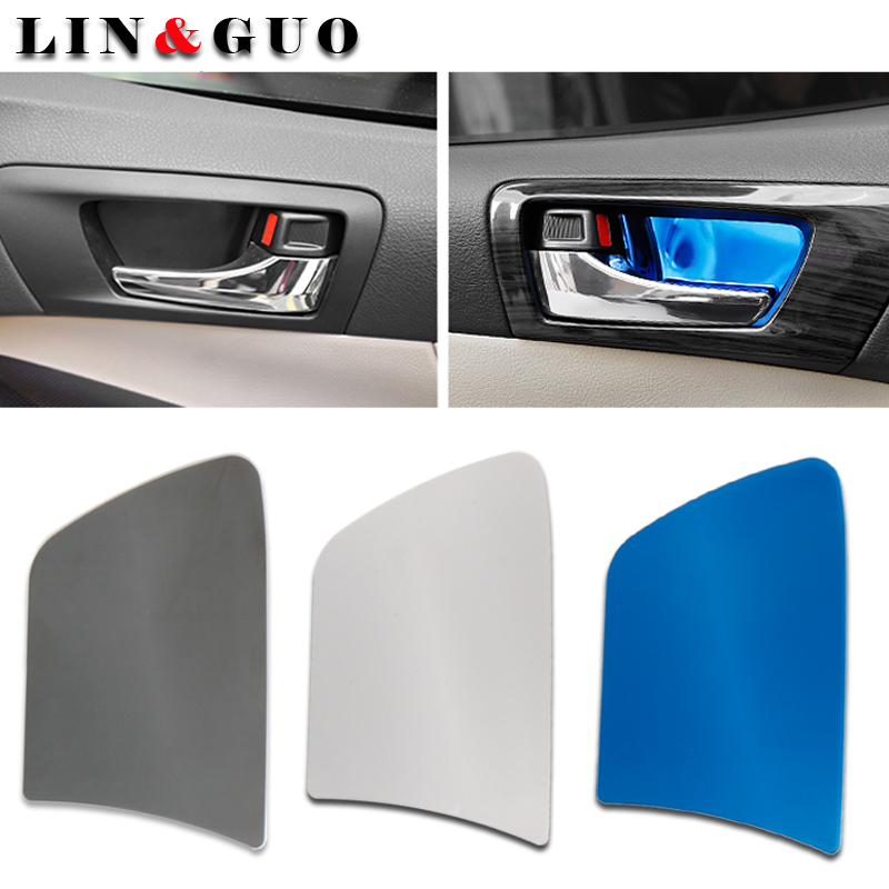 Car Styling Door Handle Cover Door Handle Bowl Trim For Toyota Camry 2012 TO 2016 Car Accessories