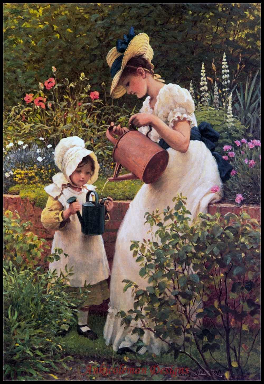 Картинки садовника женщина, картинки открытки девушке