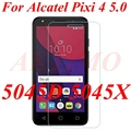 Pixi 4 5.0 5010D Cases 9H 0.26mm Water-Proof Tempered Glass For Alcatel One Touch Pixi 4 5.0 5045D Screen Protector Film Case