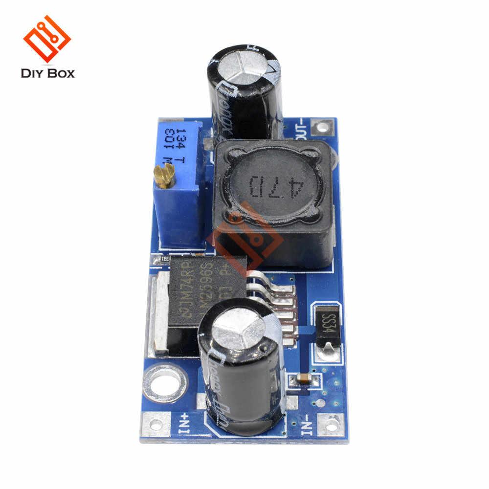10Pcs Dc-Dc Buck Converter Step Down Module LM2596 Power Supply Output 1.23V fc