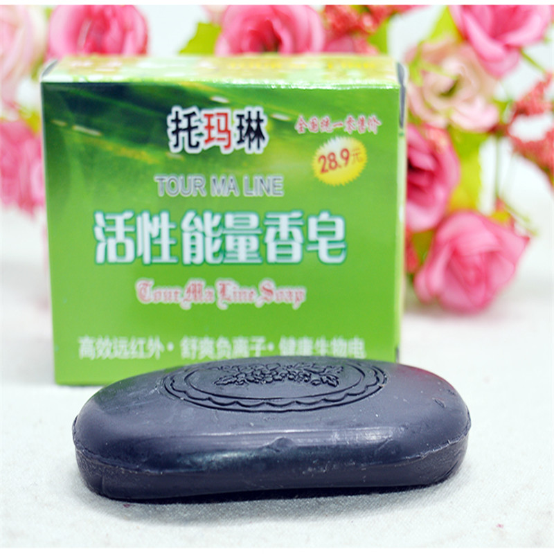 Discounted Bamboo Charcoal Soap Essential Oil Handmade Soaps For Acne Whitening Soap Deep Cleansing Oil-control Hair Care 60g