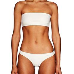 2018 Hot Sales Women 2pcs Off Shoulder Bra Beach Set Swimsuit Swimwear drop shipping  june8