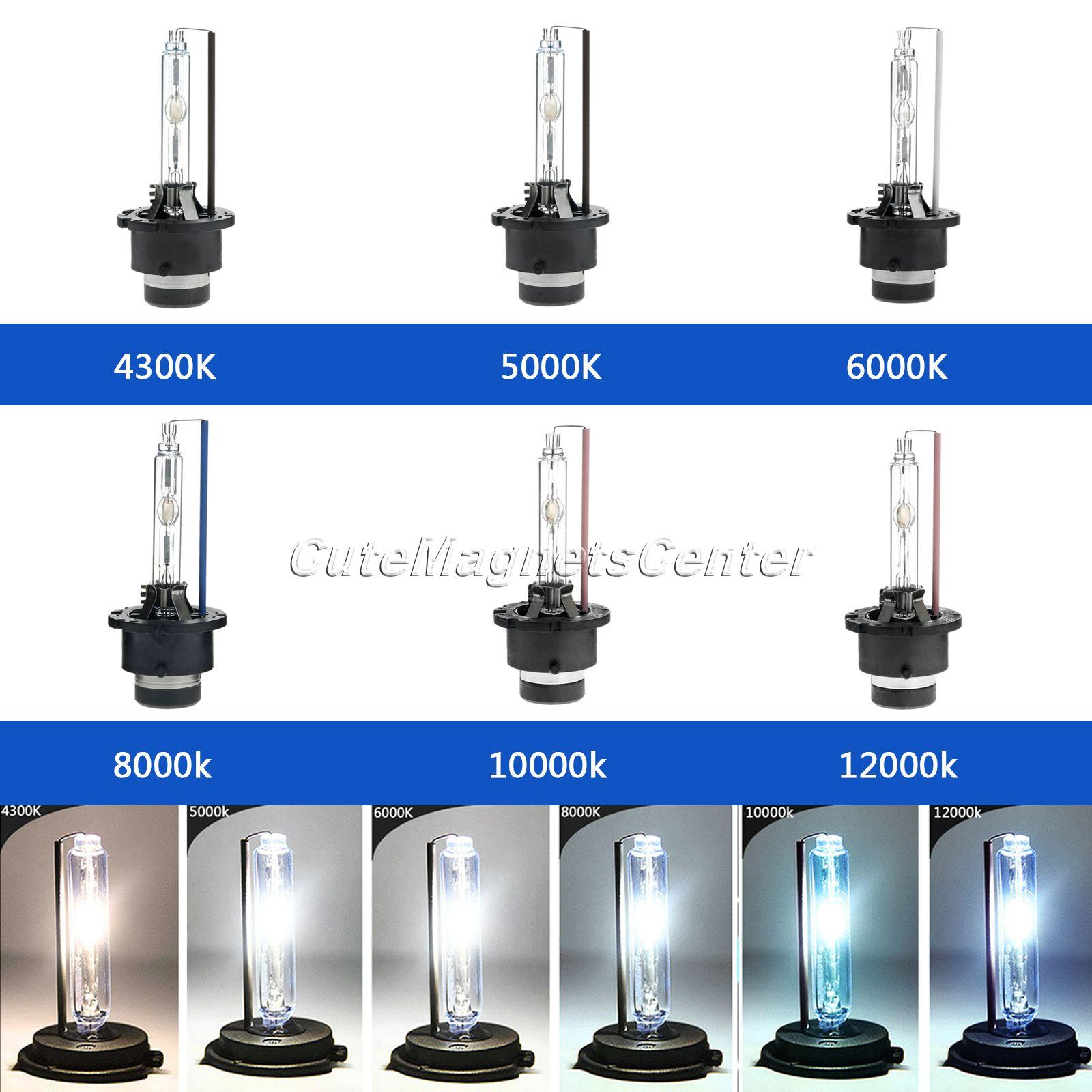 Car Light Source Car Single Beam Xenon HID Headlights Auto LED Car Lights Head Lamp Bulbs Source 4300K 5000K 6000K 8000K 12000K