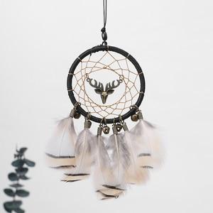 Image 4 - Handmade Dream Catcher Ethnic Feather DreamCatcher Home Wall car wedding Art Hangings Decorations Gift Pendant 2019