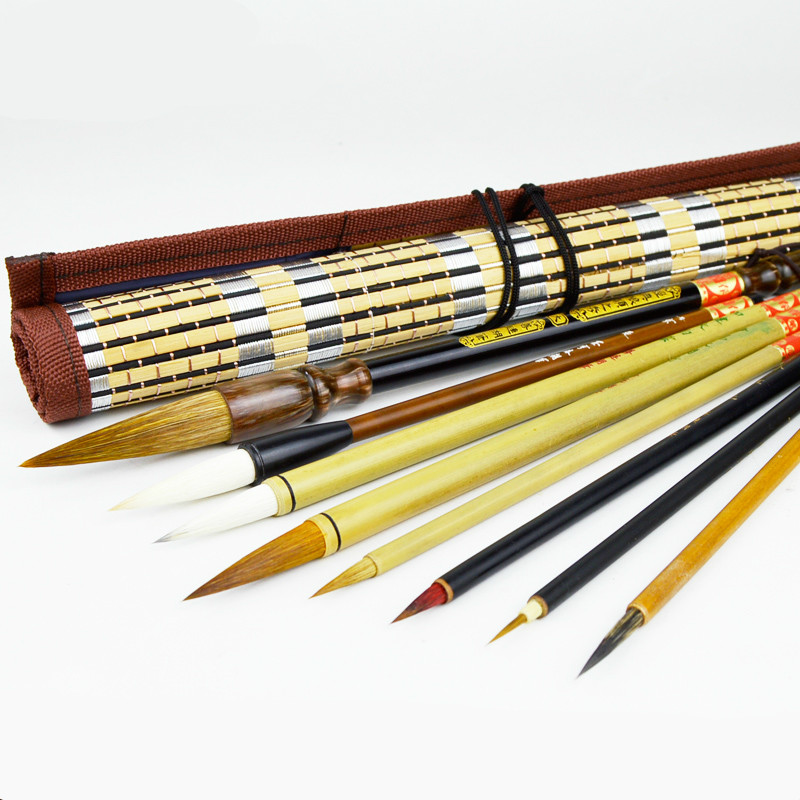 Excellent Quality Chinese Calligraphy Brushes Complete Set Painting Supplies Calligraphy Brushes Multiple Hairs Writing Brush free shipping 3pc set 2017 hot chinese calligraphy brushes pen for multiple hair writing brush and chinese painting calligraphy page 3 page 5 page 3 page 5