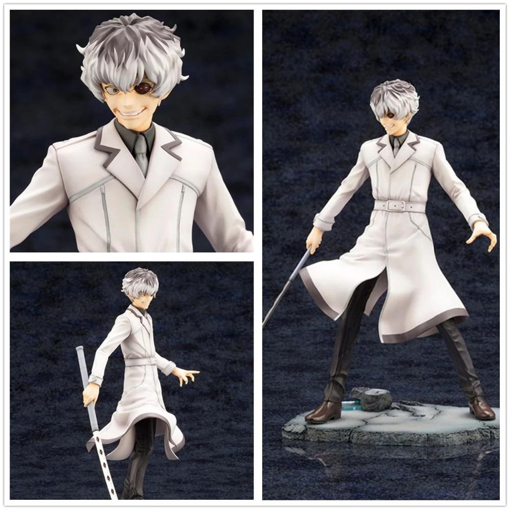 Anime ARTFX J Tokyo Ghoul Kaneki Ken PVC Figure Model Toy 22cm New in Box