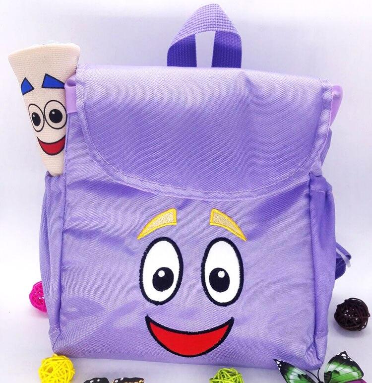 55e1c067a7a Dora Explorer Rugzak Rescue Bag met Kaart, Pre Kleuterschool Speelgoed  Paars Terug Naar School Geschenken Bruiloft Gunst in Dora Explorer Rugzak  Rescue Bag ...