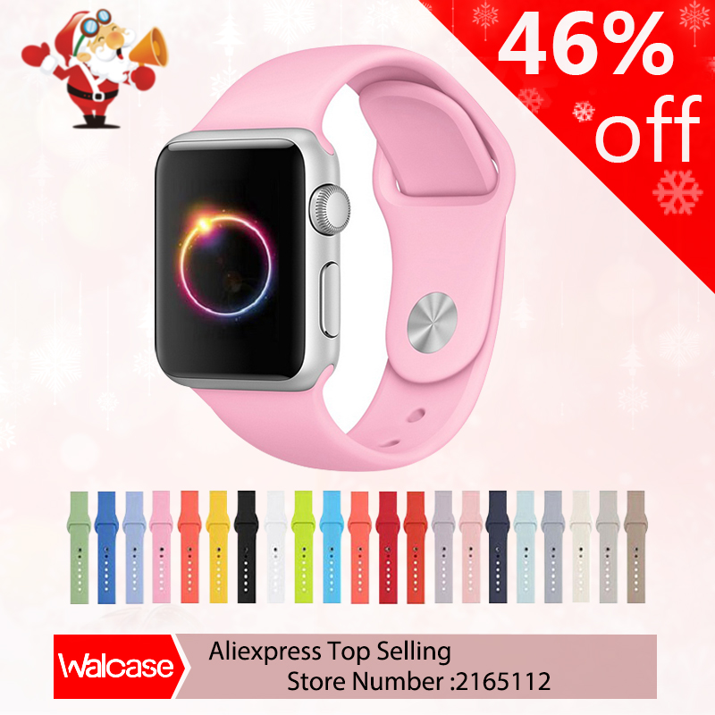 21 colors Silicone Sport Band For Apple Watch Bands 42MM
