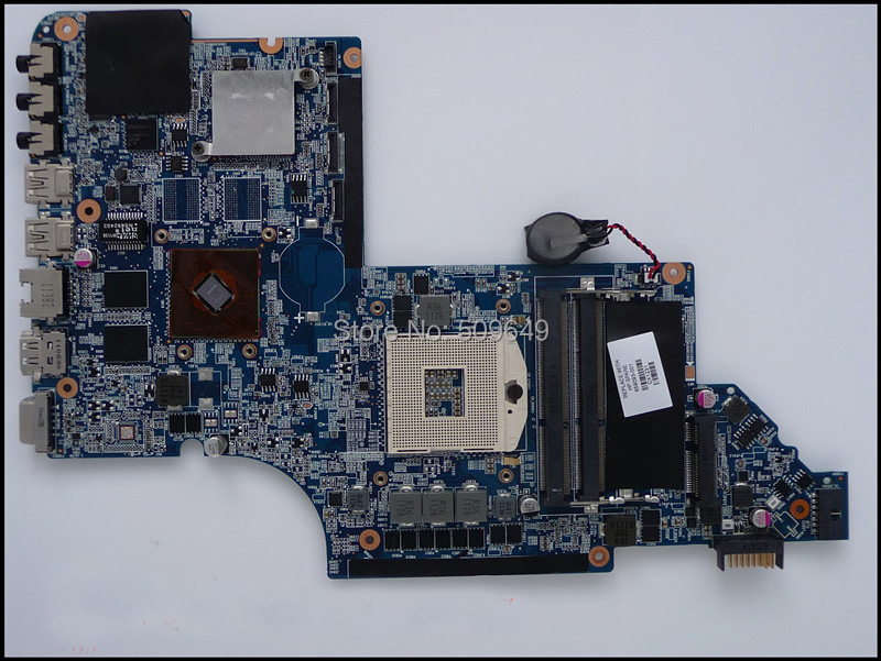 Top quality , For HP laptop mainboard 659093-001 DV7-6000 DV7 laptop motherboard,100% Tested 60 days warranty 655488 001 laptop motherboard for hp dv7 6000 655488 001 intel non integrated hm65 fully tested 60 days warranty
