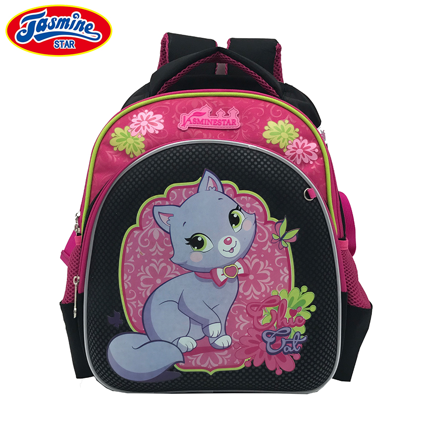 JASMINESTAR Children School Bags Orthopedic Laptop Backpacks Large Capacity Grade 1-3-6 Kids Butterfly School Bags For Girls