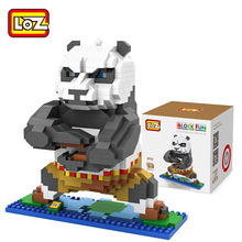 LOZ Panda Poblocks ego nero legoe star wars duplo lepin brick minifigures ninjago guns duplo farm castle super heroes playmobil