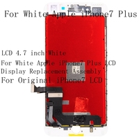 LCD 4.7 inch White For White Apple iPhone7 Plus LCD Display Replacement Assembly For Original iPhone7 LCD