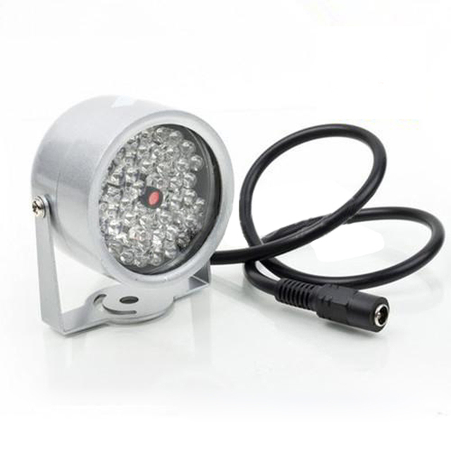 2 pcs 48 LED Lâmpada de Luz do Iluminador CCTV IR Infrared Night Vision Para Câmera de Segurança