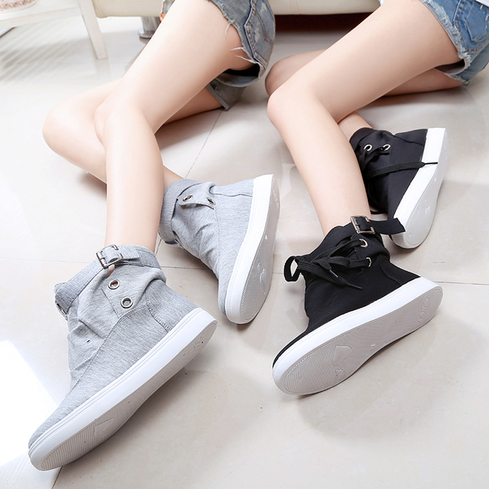 Подробнее о Women Boots Canvas Casual Shoes 2016 New Autumn Spring Fashion Brand Eur Size 36-40 Solid Lace-Up Casual Ankle Boot Flats new fashion 2017 breathable canvas mens shoes lace up solid flats spring autumn outdoor casual denim canvas shoes for men yogcu