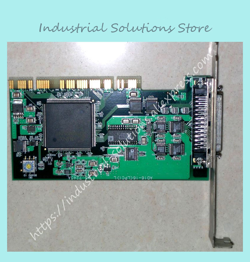 Industrial motherboard AD16-16(LPCI)L 7243 well tested working sbc8252 long industrial motherboard cpu card p3 long tested good working perfec