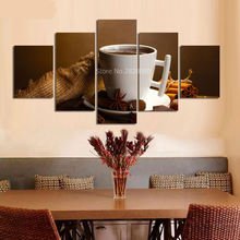 New Product 2017 HD Coffe Buddha Wallpaper HD Painting Home Decorative Art Painting Calligraphy Cheap Modern Paintings