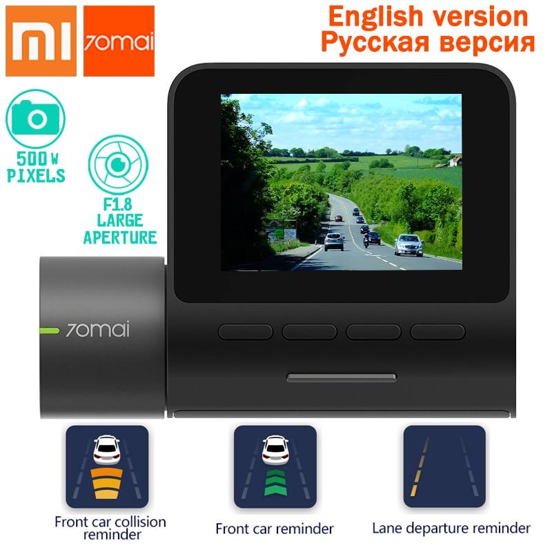 Xiaomi 70mai Dash Cam Pro smart Voiture 1944 p HD Vidéo IMX335 140 Degrés FOV Fonction Avancée d'aide au Conducteur système App Controll