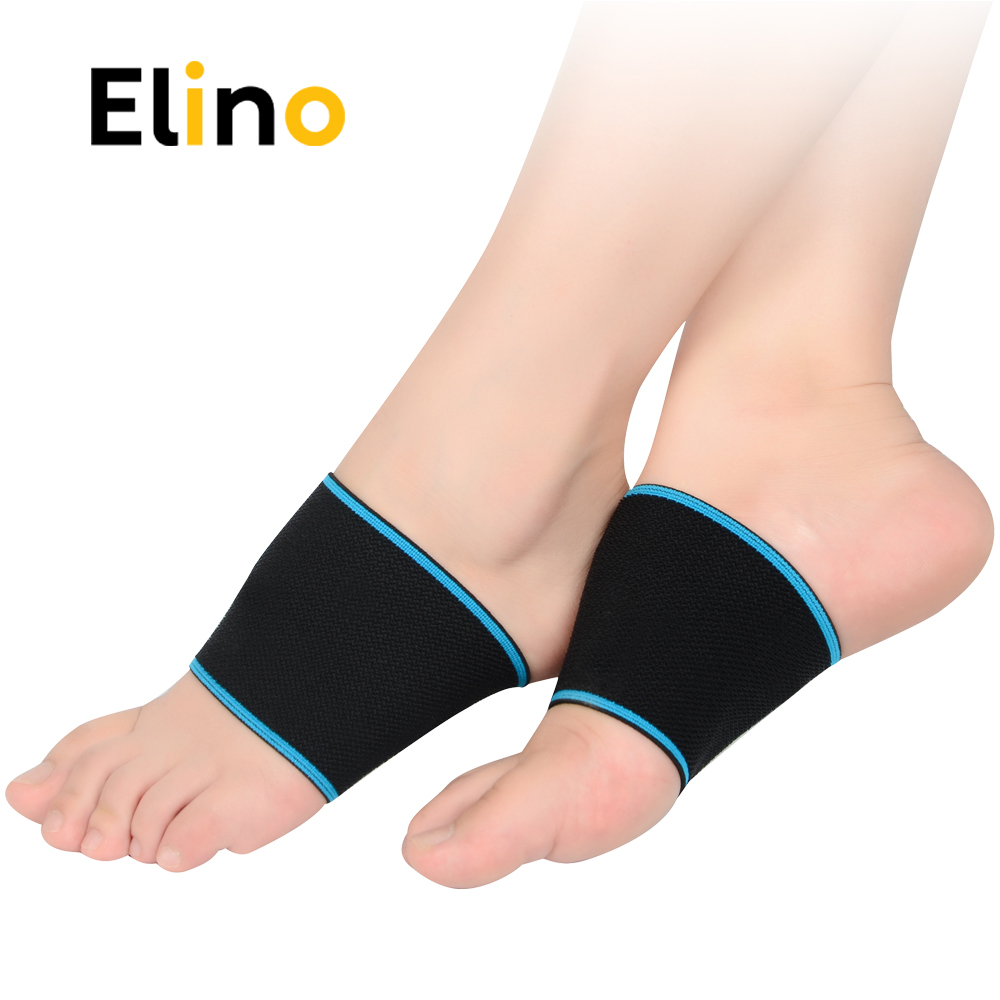 Best Yoga Shoes With Arch Support: Elino Elastic Arch Support Bandage For Men Women Gym