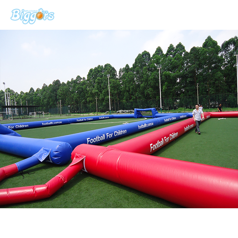 Quality assurance portable inflatable soccer football field inflatable football pitch kids play game inflatable football pitch inflatable soccer field for sale
