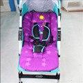 Cochecitos y sillas de paseo Pad Colorido de Cochecito de Bebé de Coche de Bebé Cochecito Buggy Carro Estera Cojín Del Asiento Para Niños de Espesor
