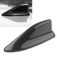 Car Shark Fin Antenna Cover Cap Trim For Subaru BRZ For Toyota 86 56 Black Real Carbon Fiber Styling ABS
