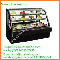 Sistema de refrigeración por aire refrigerador de panadería, gabinete de exhibición de tartas, refrigerador de tartas