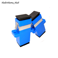 NoEnName_Null 50pcs/lot SC SC Fiber Optical Coupler Flange Single mode multimode Adapter Quick Connector Free Shipping wholesale