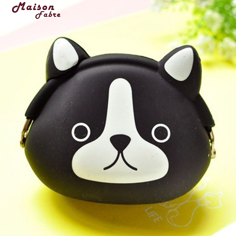 New Fashion Candy Colored Girls Coin Bags Womens Wallets Cute Cartoon Silicone Mini Coin Purse Children Kids Gifts