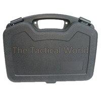 Outdoor Tactical Hunting Airsoft Big Pistol Gun Case Box Pistol Case Handgun Carry Storage Hard Gun Box CS Paintball Accessories