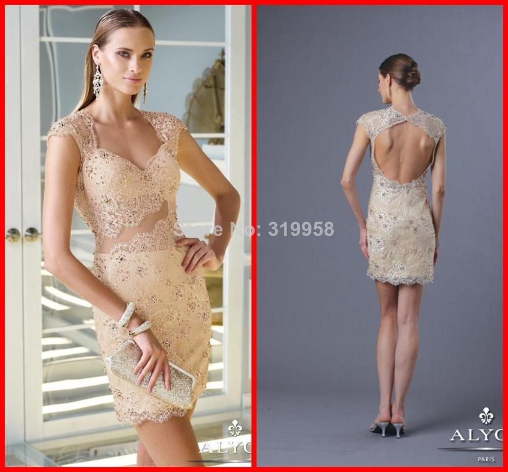 Compare Prices on Champagne Sheath Cocktail Dress- Online Shopping ...