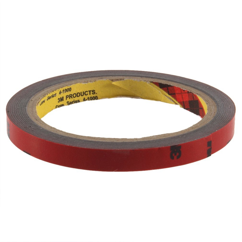 3 M 10mm Car Auto Truck Acrylic Foam Double Sided Attachment Adhesive Tape Designed For The Attachment Of A Wide Variety Of Auto