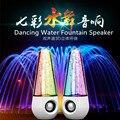 Lady Presente Colorido Dança Speaker Água de Dança Com USB Para O Telefone Móvel de Som Ativa