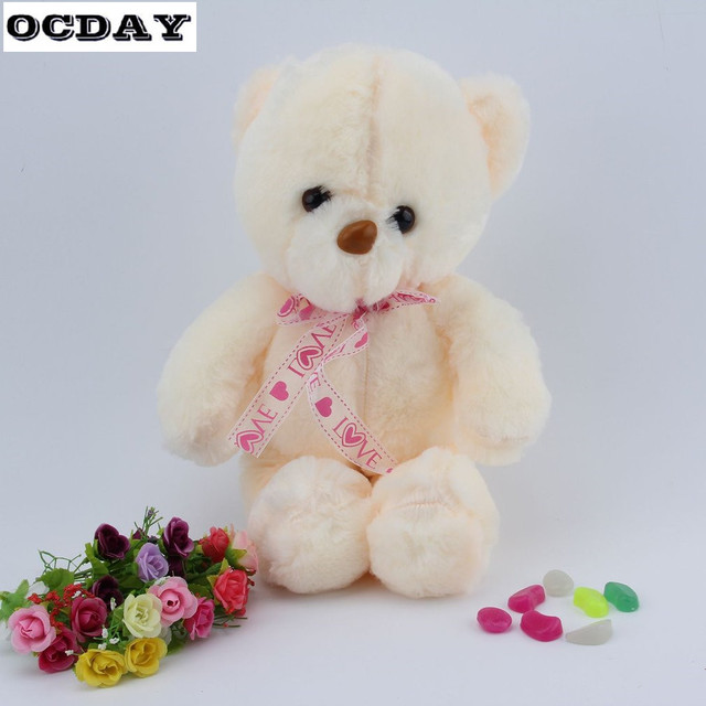 53b65348715 OCDAY 50cm Creative Light Up LED Teddy Bear Stuffed Animals Plush Toy  Colorful Glowing Teddy Bear Xmas Gift for Kids Animal Toys