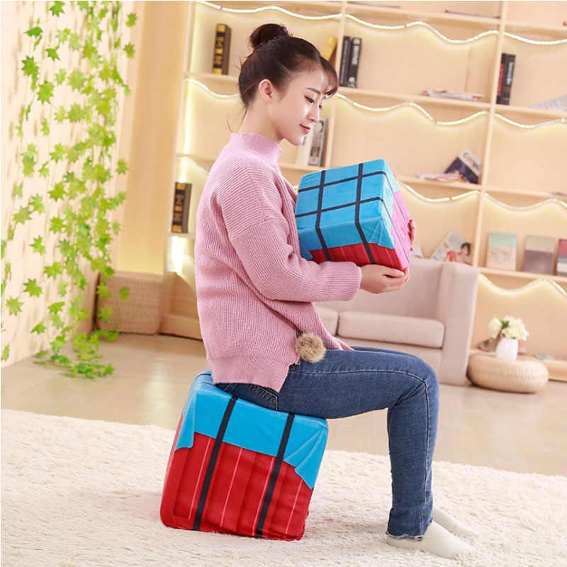 Saizhi игра PUBG PLAYERUNKNOWN'S BATTLEGROUNDS паровой контейнер для сброса груза, чтобы есть курица периферийные cos модель куклы подушки-игрушки реквизит