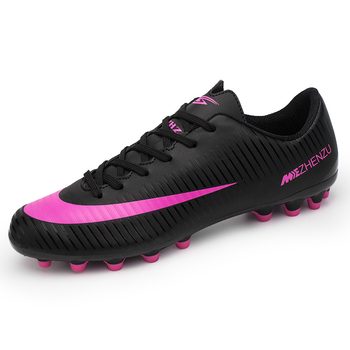 4d9d7258d1715 Tamanho 34-44 Criança spike tênis de futsal sapatos de futebol profissional  para crianças homem de futebol chuteiras Botas sapato Feminino