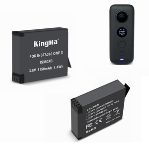 Image 4 - 2019 החדש 2Pcs 1150mAh אחד X החייבת סוללה + מיקרו/סוג C נמל הכפול מטען עבור insta360 אחד X מצלמה אבזרים