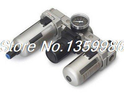 1pcs SMC Type 3/4 BSPT Filter Regulator Lubricator 5000 L/min Auto drain button side stripe pencil skirt