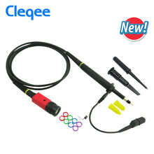 Cleqee P4100 1PCS Oscilloscope Probe 100:1 High Voltage Withstand 2KV 100MHz for Oscilloscope owon liliput wholesale