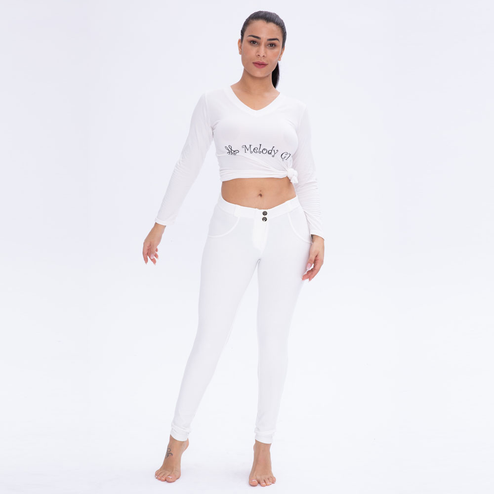 c56191468a Melody womens leggings fitness pants yoga pants organic cotton spandex push  up leggings quick dry butt shaping pants