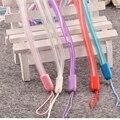 Fashion Universal Phone lanyard plastic for phones neck Mobile Phone Straps Phone chain rotation plastic Long hanging badges key